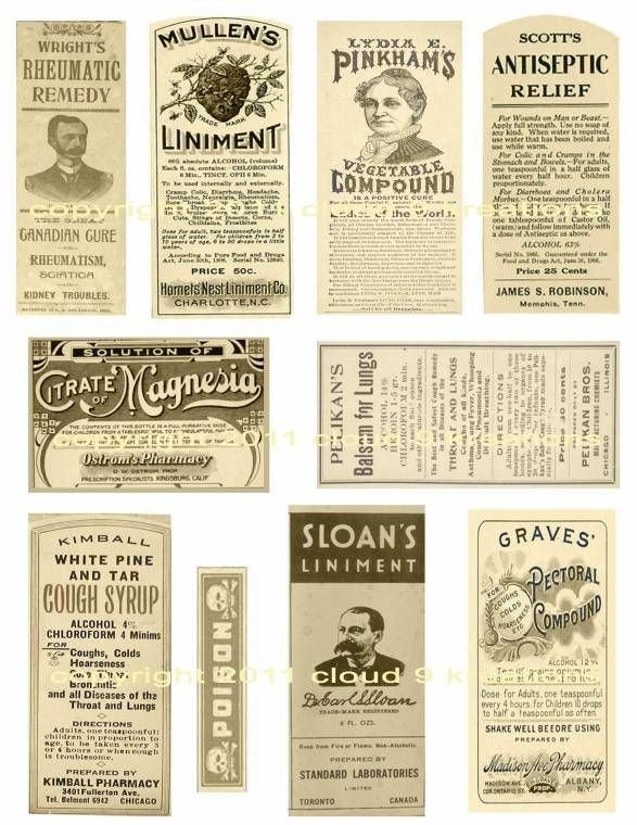 images of antique price tags and lables   Antique Medicine Labels Digital Collage Sheet 2-medicine, label ...