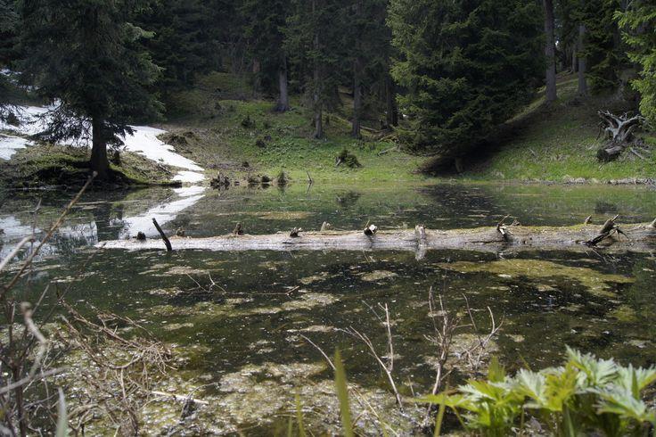 """Natural Monument  """"Schworz Lock""""  www.hotel-tirler.com"""