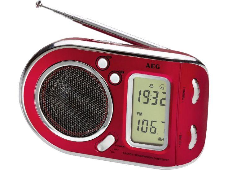 AEG WE 4125 világvevő hordozható rádió, piros - Media Markt online vásárlás