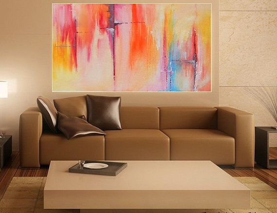 Painting Abstract Acrylic Painting Wall Art by RashidaAGallery