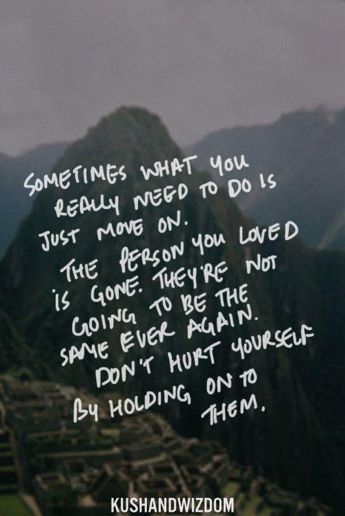 move on quote... #goodbye #heartbreak | quotes | Pinterest ...