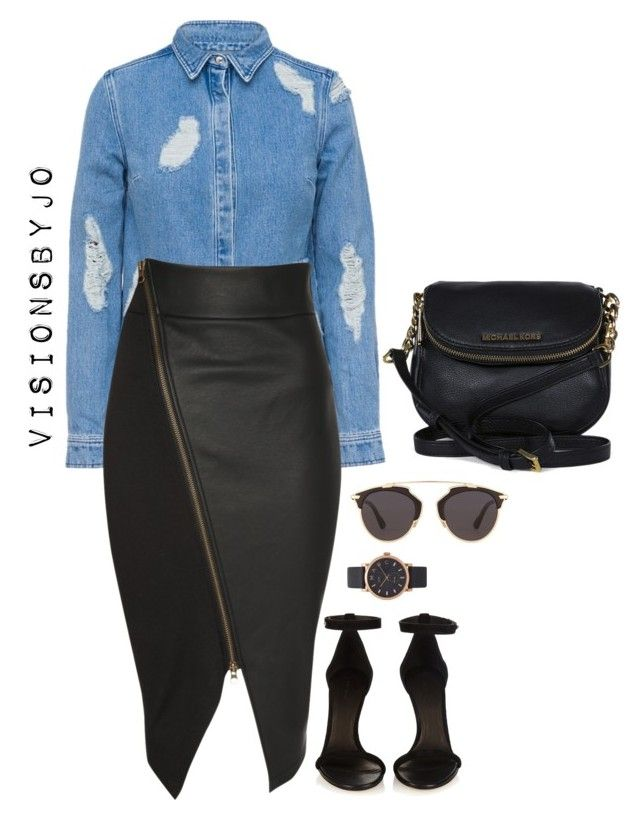 Untitled #1586 by visionsbyjo on Polyvore featuring polyvore, fashion, style, House of Holland, Jane Norman, Isabel Marant, Michael Kors, Marc Jacobs, Christian Dior and clothing