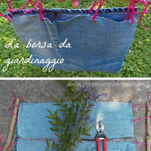 Come fare una borsa da giardinaggio