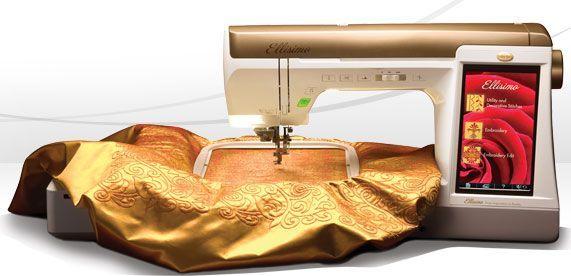 Baby Lock Ellisimo Embroidery Machine