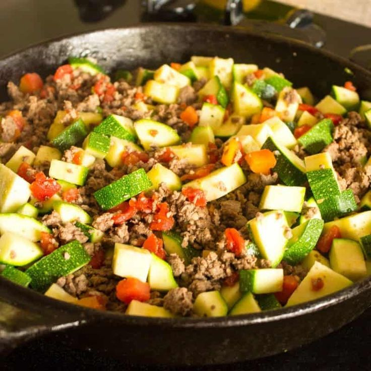 This low carb Mexican zucchini and ground beef recipe is a simple dish made with…