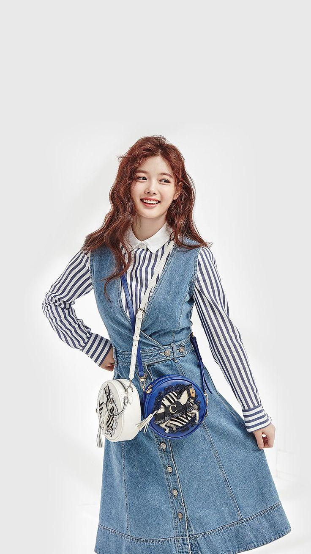 hm92kpopgirlyoojungcute Kpop girls, Wallpaper iphone