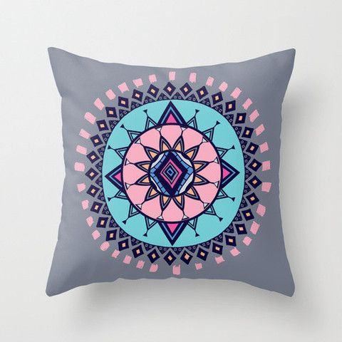 Cloud Nine Creative - Aztec Flower Cushion