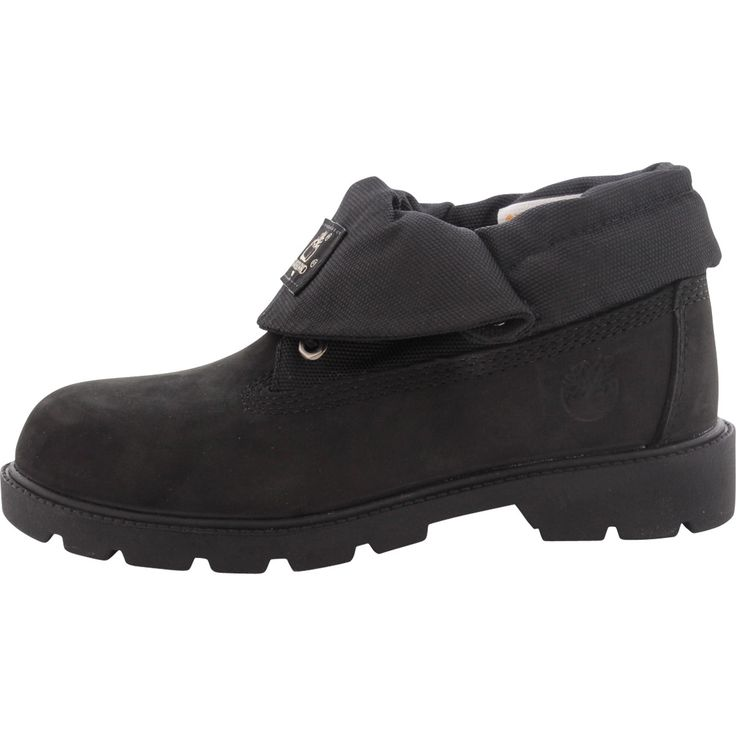 Timberland - Boy's Roll Top Single Shot Boots - Black
