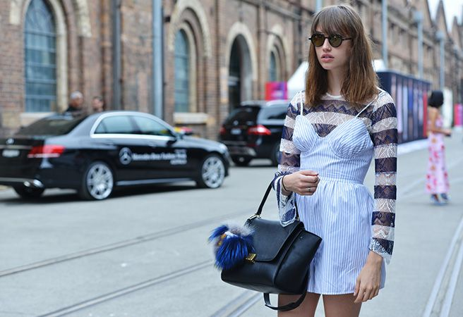 how to wear smock dress