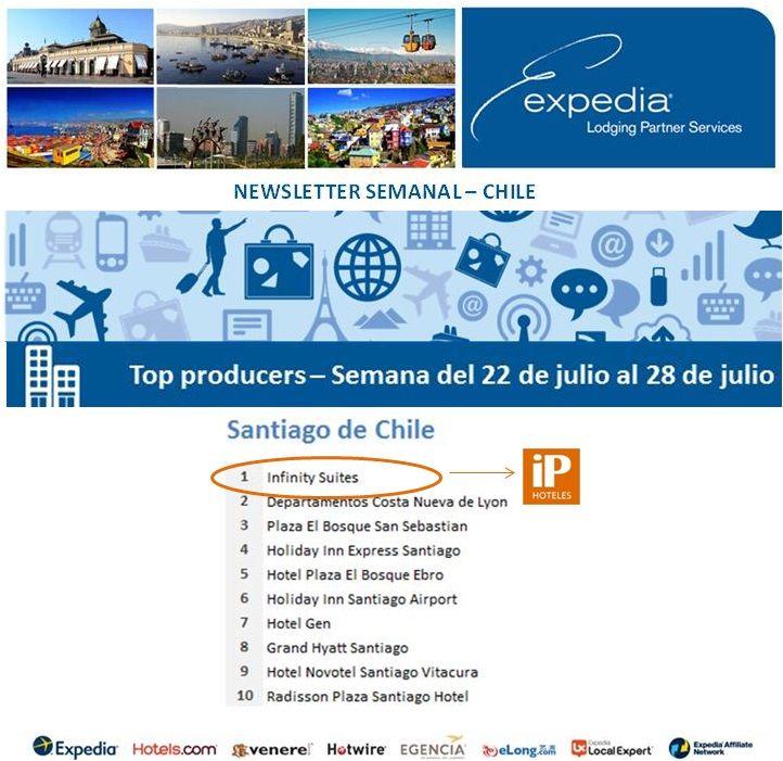 iP Hoteles - Expedia - Semana del 22 de julio al 28 de julio de 2013 - Infinity Suites