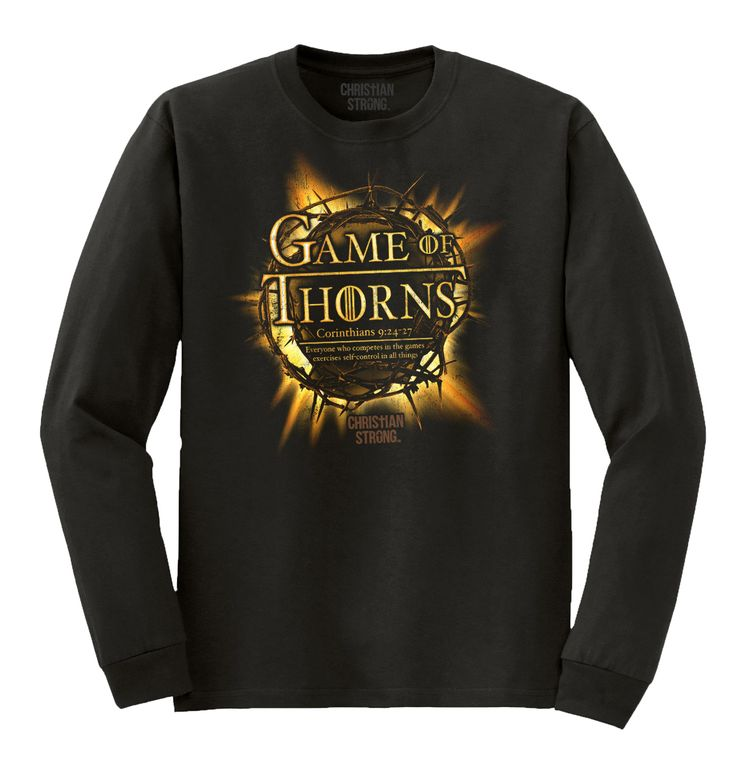 Game Of Thorns Christian Long Sleeve T-Shirt