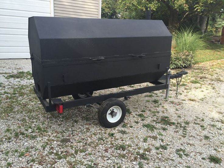 Bbq Smoker Cooker Grill Pig Roaster Trailer Football Tailgate Catering Business Commercial Kitchen Equipmentscatering