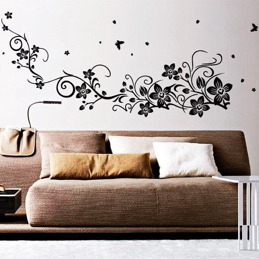 Best Wall Art Decals Images On Pinterest Wall Art Decal - Vinyl wall decals butterflies