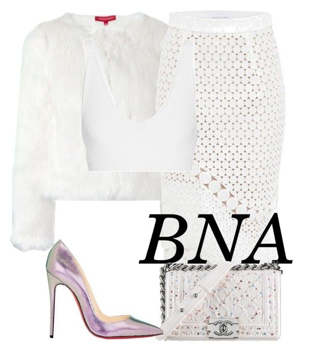 BNA by deborahsauveur on Polyvore featuring polyvore fashion style Cushnie Et Ochs n:PHILANTHROPY Rachel Gilbert Christian Louboutin clothing