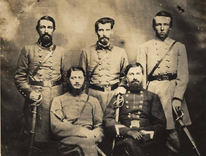 Brigadier General Sterling Alexander Martin Wood And Staff