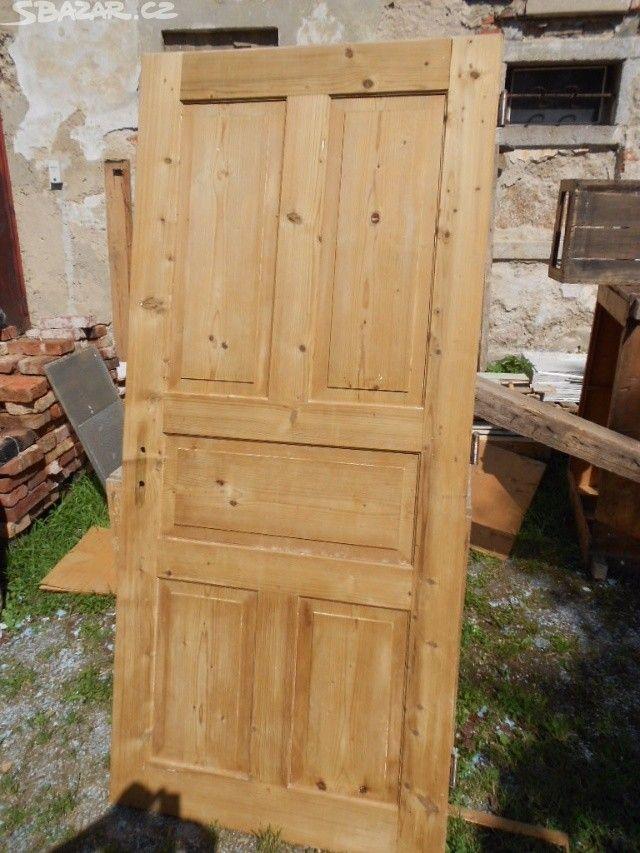 Dřevěné dveře, zárubeň, obložka - obrázek číslo 1