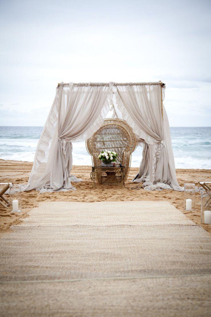 Zuma beach wedding venues   best bora casar images on Pinterest  Marriage Brides and