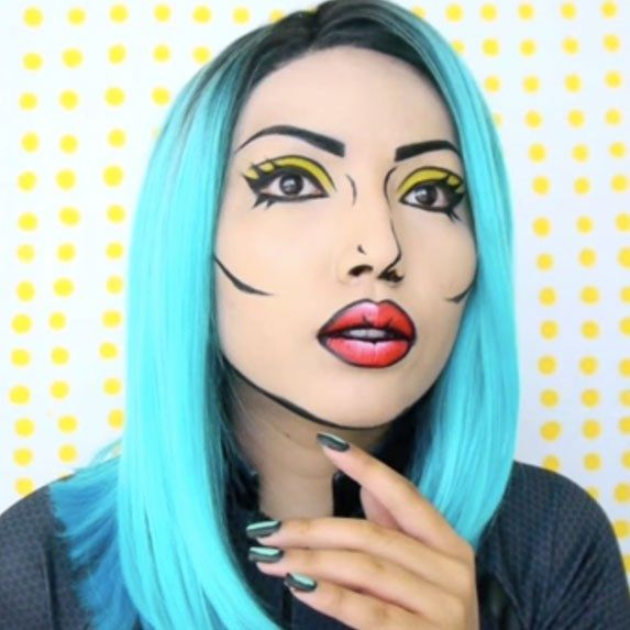 Best 25+ Comic book makeup ideas on Pinterest | Comic makeup, Pop ...