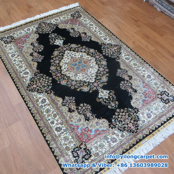 A04 4 X 6 Hand Knotted Silk Turkish Rug Offered By Yilong Description