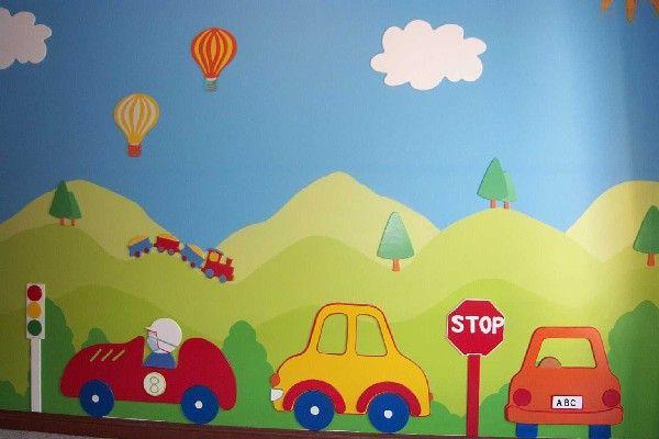 Best 25 kids wall murals ideas on pinterest wall murals for Belly button bears wall mural