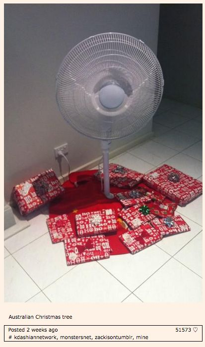 On Christmas in Australia: | 47 Times Australians Totally Nailed It On Tumblr In 2014