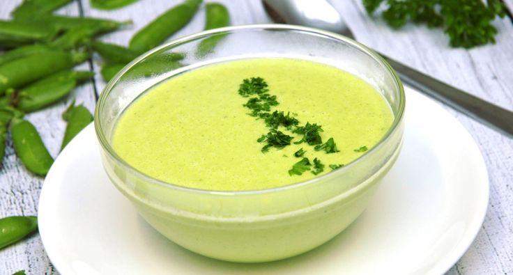 Zöldborsókrémleves recept | APRÓSÉF.HU - receptek képekkel