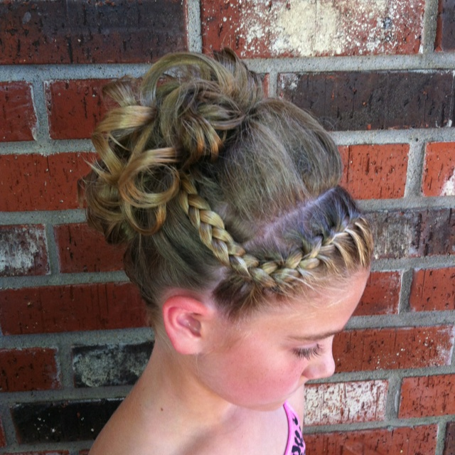28 Updo Hairstyles For Recitals
