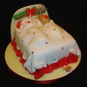Christmas Cake Designs Novelty : 487 best Christmas Cakes images on Pinterest Christmas ...