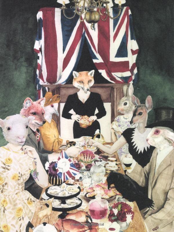 The Vintage Tea Party Book: Amazon.de: Angel Adoree: Englische Bücher