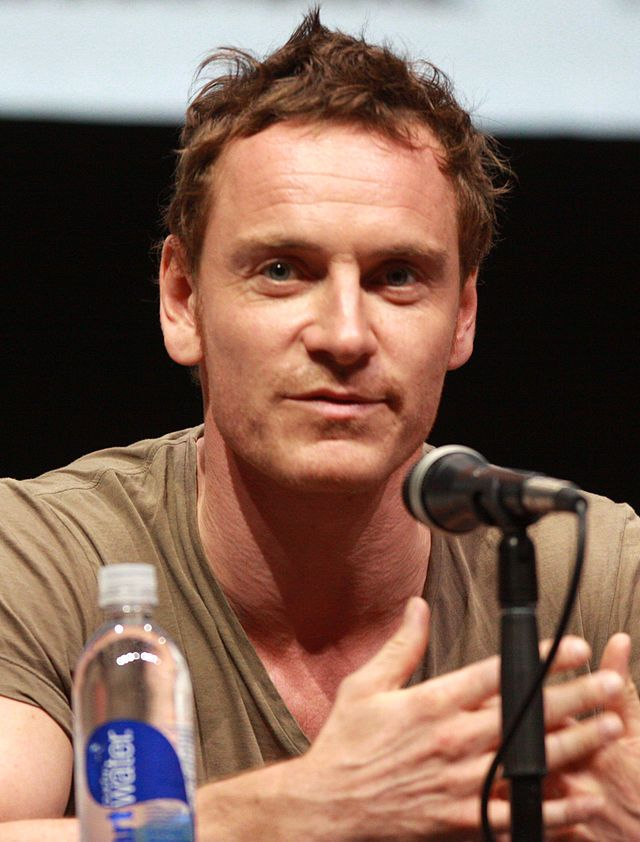 SDCC13 - astro snake Michael Fassbender (born 2 Apr 1977) is a German-Irish actor and producer. His first screen role was in the 2000 TV miniseries Hearts and Bones, followed by the 2001 television miniseries Band of Brothers. He then worked on a number of TV productions through the 2000s. His notable film roles include Lt. Archie Hicox in Quentin Tarantino's war film Inglourious Basterds (2009), Magneto in the superhero films X-Men: First Class (2011) and X-Men: Days of Future Past (2014)…