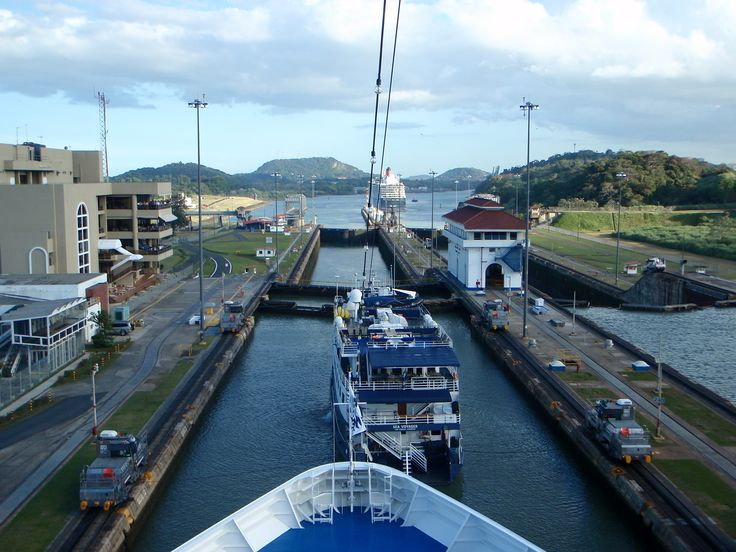 The Panama Canal   On every explorers must visit list, a remarkable place.