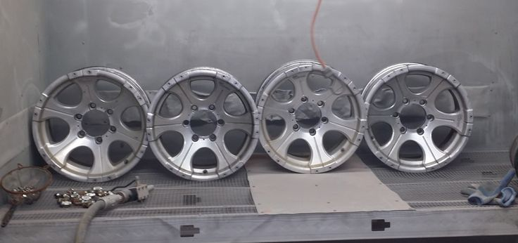 What do I need to do to prep my rims before getting them powder coated?