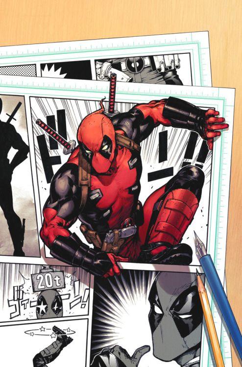 Deadpool #1 Variant ('15)