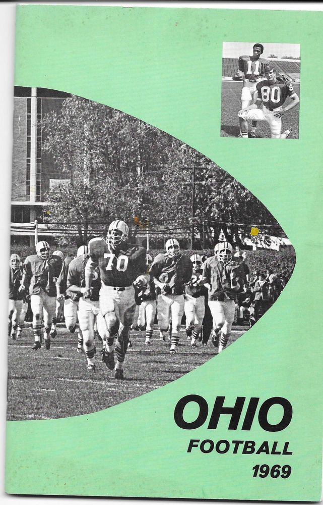 1969 Ohio University Bobcats Football Press Media Guide