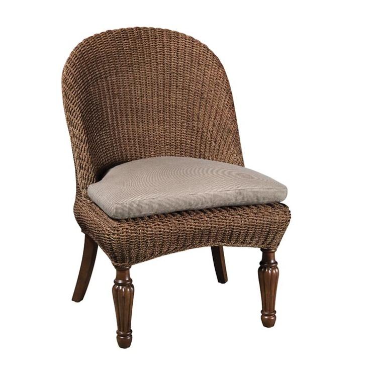 Kincaid furniture american journal seagrass side chair for Kincaid american journal bedroom furniture