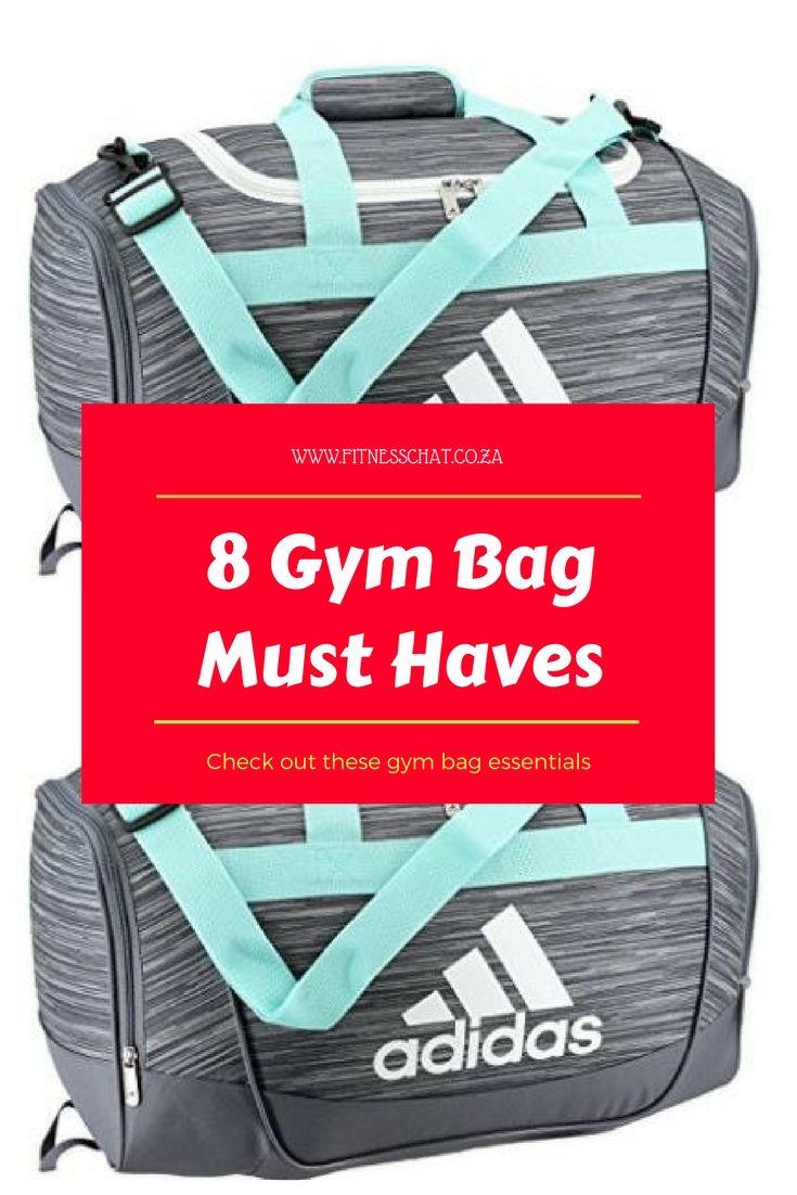 nueva productos calientes material seleccionado oferta GYM BAG ESSENTIALS - 8 ITEMS YOU MUST HAVE | Gym bag essentials ...