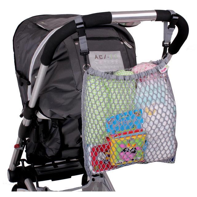 Minene UK Pushchair Net Bag - Grey http://www.ocado.com