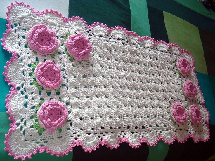 """ATELIÊ ARTE DE BORDAR: """"Crochê da Mimi"""": Passo a passo: Tapete Trançado em Crochê"""