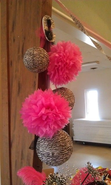 "Photo 1 of 17: Zebra & Hot Pink / Birthday ""13th Birthday party"" | Catch My Party"
