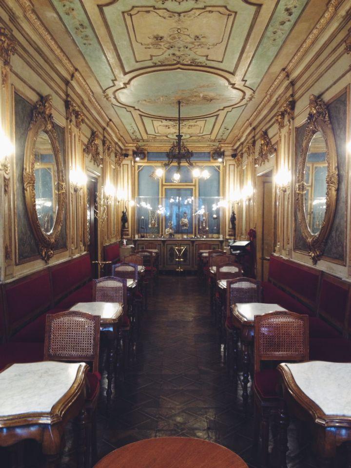 Caffè #Florian #Venezia San Marco - Florian #cafè in #Venice Saint Mark #travel #travelinspiration #italy #italia #veneto #italiantravel