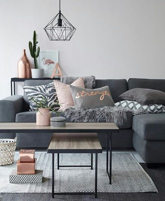 blush gray and copper room decor inspiration a color palette and decor items that work well with the rustic glam interior design theme