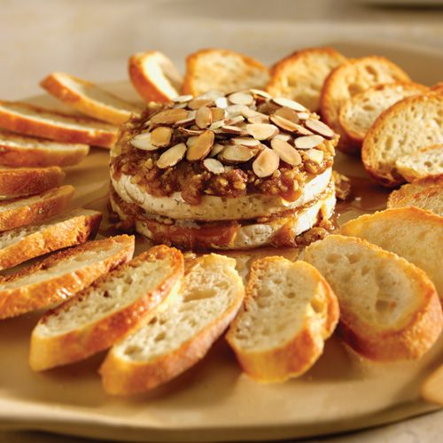 One of my favorite, easy appetizers and its DELICIOUS.   Brown Sugar-Dijon Brie  Best prepared on stoneware :)