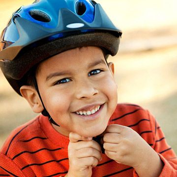 """Do a Helmet Check - Though most states require kids to wear a helmet when they ride a bike, it falls to parents to enforce this rule and to apply it to any sport in which kids—even little kids—can reach a high speed. """"A good rule of thumb is if your child is on anything with wheels, he or she should wear a helmet,"""" says Cheryl Wu, M.D., a pediatrician in New York City. This means mandatory helmet-wearing while riding a scooter, skateboard, bicycle, tricycle, or rollerblades. #spring #seasons"""