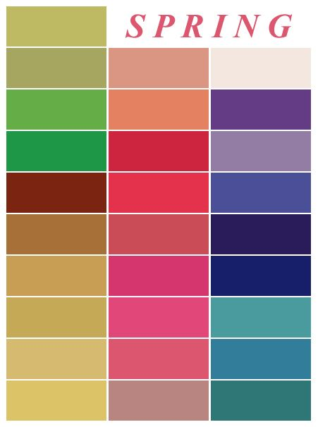 25+ best spring color palette ideas on pinterest | spring colors