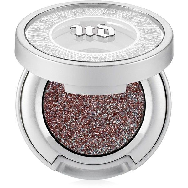 Urban Decay Moondust Eyeshadow ($21) ❤ liked on Polyvore featuring beauty products, makeup, eye makeup, eyeshadow, ether, cream eyeshadow, urban decay eye shadow, sparkle eyeshadow, urban decay eye makeup and glitter eye makeup