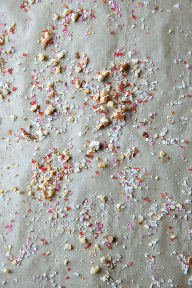 Confetti Christmas Shortbread Cookies by Judy Kim | The Judy Lab