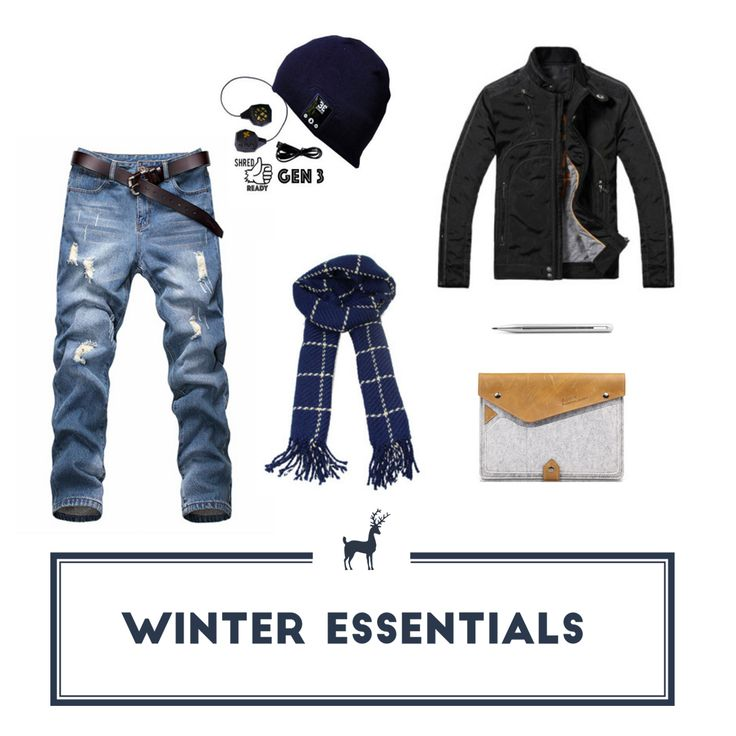 Winter essentials for him at http://moody.no