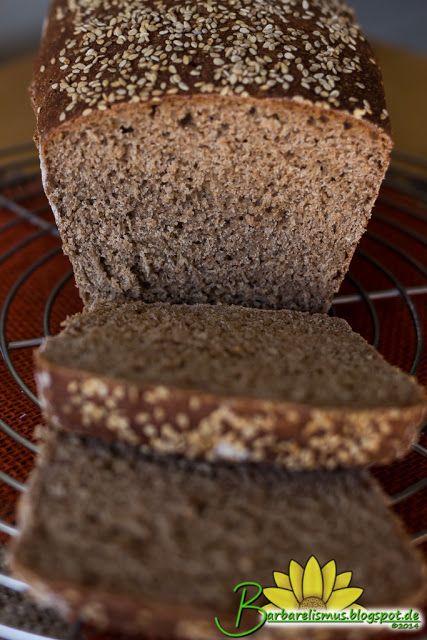 Pão de Espelta Integral com Gergelim