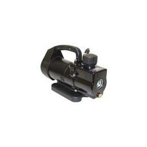 """Uniweld UVP1.5-110 Pump, Vacuum Pump, Rotary Vane, 1.5 CFM, 110VAC, 2 Stage Pump. Duty Cycle: Intermittent. Gas Ballast: Yes. Port Size: Inlet:1/4"""" x 3/8"""" flare and 1/2"""" male Acme (auto); Outlet: filter. Power (amps): 5.4. Power (Hz): 60."""