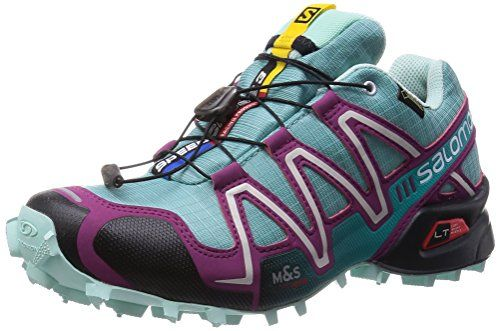 Salomon Speedcross 3 GTX, Damen Traillaufschuhe, Blau (Opaline Blue/Igloo Blue/Mystic Purp), 40 2/3 EU (7 Damen UK) - http://on-line-kaufen.de/salomon/40-2-3-eu-salomon-speedcross-3-gtx-damen